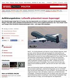 Aufklärungsdrohne: Luftwaffe präsentiert neuen Supervogel
