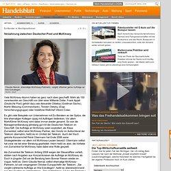 Moderne Auftragsvergabe : Verzahnung zwischen Deutscher Post und McKinsey - Handel + Dienstleister - Unternehmen