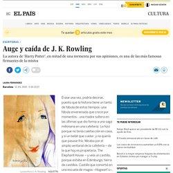 Auge y caída de J. K. Rowling