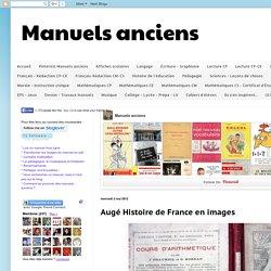 Manuels anciens: Augé Histoire de France en images