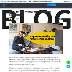 Augment Reality in Education, On-Demand App Development India