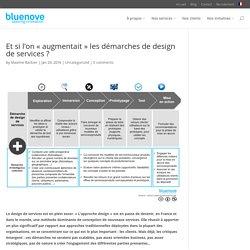 Et si l'on « augmentait » les démarches de design de services ?