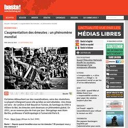 L'augmentation des émeutes : un phénomène mondial - Mouvement social ?