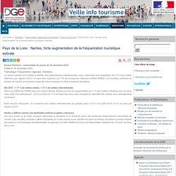 Pays de la Loire : Nantes, forte augmentation de la fréquentation touristique estivale
