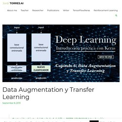 Data Augmentation y Transfer Learning con Keras / TensorFlow 2.0