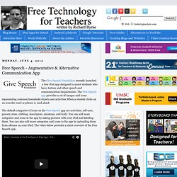 Free Speech - Augmentative & Alternative Communication App