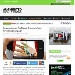 How Augmented Reality can Change Your Advertising Campaign