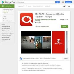 ARLOOPA - Plataforma de realidad aumentada - AR - Aplicaciones en Google Play