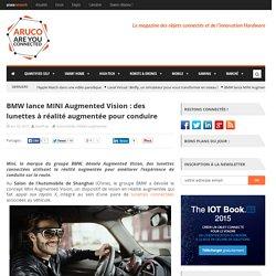 Mini Augmented Vision, lunettes réalité augmentée pour conduire