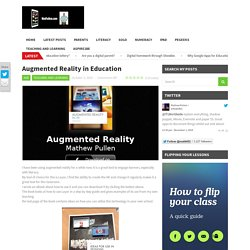 Augmented Reality in Education - Teaching and Learning nuts and boltsTeaching and Learning nuts and bolts