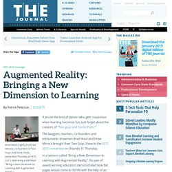 Augmented Reality: Bringing a New Dimension to Learning