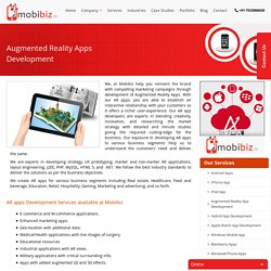Augmented Reality App Development India, AR App Developer Gurgaon