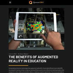 THE BENEFITS OF AUGMENTED REALITY IN EDUCATION – QuantumERA