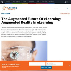 The Augmented Future Of eLearning: Augmented Reality In eLearning - eLearning Industry