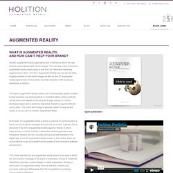 What is Augmented Reality - Holition
