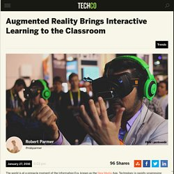 Augmented Reality Brings Interactive Learning to Classroom