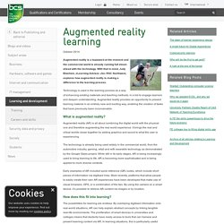 Augmented reality learning