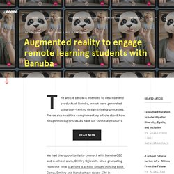 Augmented reality to engage remote learning students with Banuba