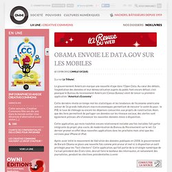 News, Augmented » Obama envoie le data.gov sur les mobiles