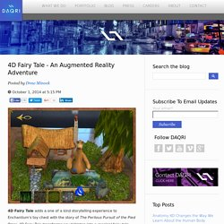4D Fairy Tale - An Augmented Reality Adventure