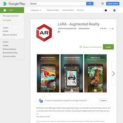 LARA - Augmented Reality - Aplicaciones Android en Google Play