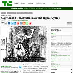 Augmented Reality: Believe The Hype (Cycle)
