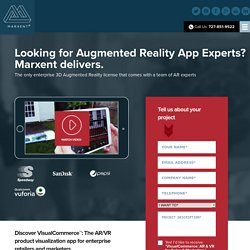 Expert Augmented Reality App Developer