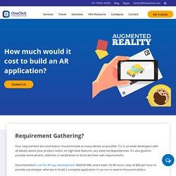 Augmented Reality App Development Cost in USA, Best AR App Development Company