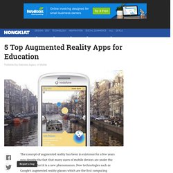 5 Top Augmented Reality Apps for Education - Hongkiat