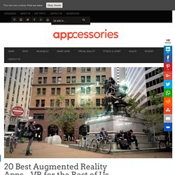 20 Best Augmented Reality Apps - Play. Enjoy. Learn