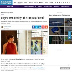Augmented Reality: The Future of Retail
