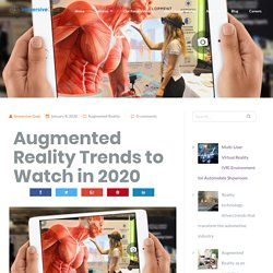 Augmented Reality Trends to Watch in 2020