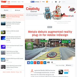 Metaio Debuts Augmented Reality Plug-in for Adobe InDesign