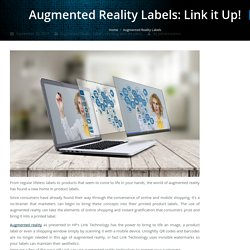 Embrace the Future by Trying Augmented Reality for Product Labels