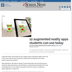 12 augmented reality apps students can use today