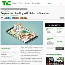 Augmented Reality Will Make Us Smarter