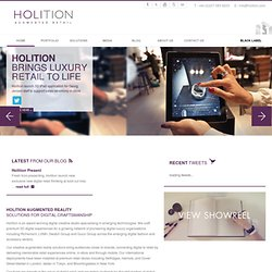 3d Augmented Reality Solutions | Holition