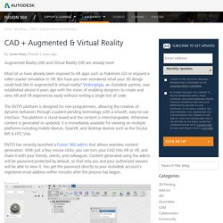 CAD + Augmented & Virtual Reality - Fusion 360 Blog