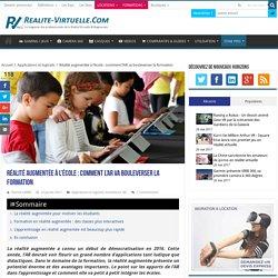 Réalité augmentée à l'école : comment l'AR va bouleverser la formation