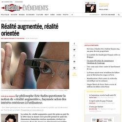 Réalité augmentée, réalité orientée