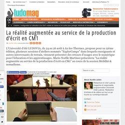 La réalité augmentée au service de la production d'écrit en CM1