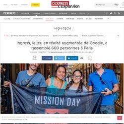 Ingress, le jeu en réalité augmentée de Google, a rassemblé 600 personnes à Paris