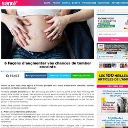 6 Façons d'augmenter vos chances de tomber enceinte