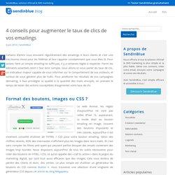 4 conseils pour augmenter le taux de clics de vos emailings - Sendinblue Blog