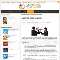 Augmenter sa visibilité sur internet - Formation Internet