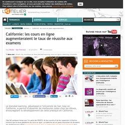 Californie: les cours en ligne augmenteraient le taux de réussite aux examens