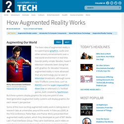 Augmenting Our World - How Augmented Reality Works