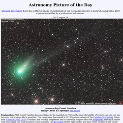 2015 August 18 - Announcing Comet Catalina