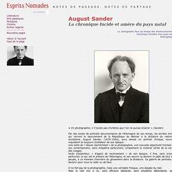 August Sander (1876-1964) - Photographe