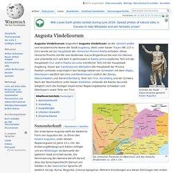 Augusta Vindelicorum